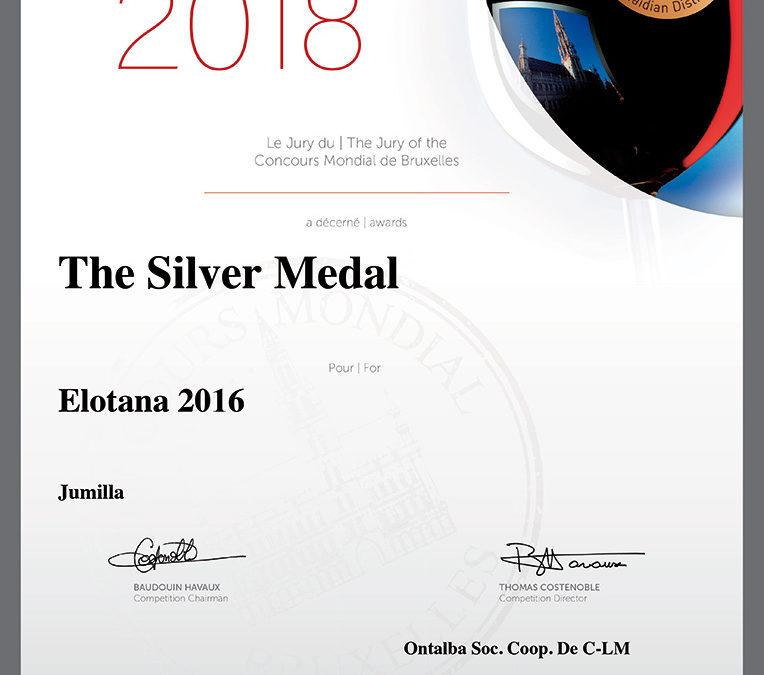 Medalla de plata Elotana