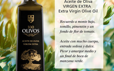 We present 100 OLIVE TREES, EXTRA VIRGIN olive oil.