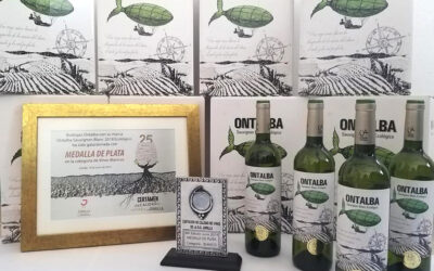 Medalla de Plata ONTALBA Sauvignon Blanc